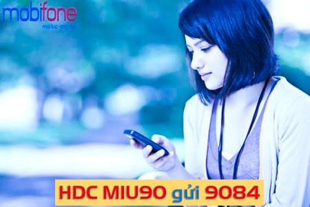 Đăng ký gói cước 4G MIU90 MobiFone để được lướt web không giới hạn dung lượng