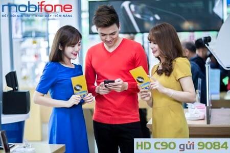 Gói cước dịch vụ 3G MobiFone - C90 MobiFone ưu đãi cực khủng