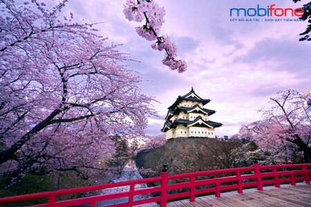 Các gói cước CVQT MobiFone tại Nhật Bản với cước phí rẻ
