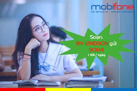 Đăng ký gói cước 12HD90N MobiFone dùng cả năm với ưu đãi 1GB mỗi ngày